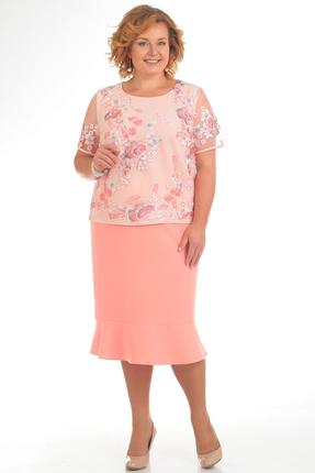 Фото - Комплект юбочный Pretty 735 розовые тона цвет розовые тона