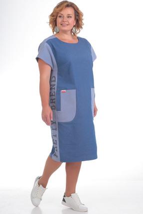 Платье Pretty 745 синий