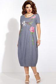 Платье Vittoria Queen 5803/4 синие тона