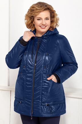 Купить Куртка Ivelta plus 873 темно-синие тона, Куртки, 873, темно-синие тона, ПЭ 100%, Мультисезон