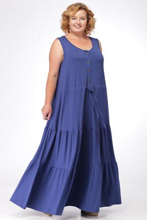 Купить Платье Michel Chic 904 синий, Платья, 904, синий, состав : 95% вискоза, 5% лайкра, Мультисезон