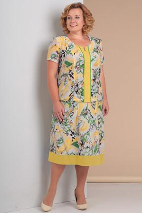 Комплект юбочный Новелла Шарм 3049-1 желтые тона