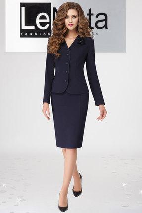 Комплект юбочный LeNata 21865 темно-синий