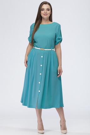 Купить Платье Michel Chic 903 голубые тона, Платья, 903, голубые тона, Состав : 100% пэ, Мультисезон