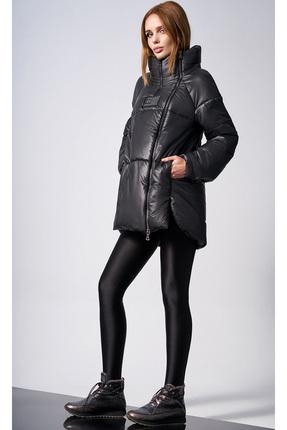 Купить Куртка DiLiaFashion 0123-1 черный, Куртки, 0123-1, черный, 100% полиэстер (утеплитель - 100% isosoft), Зима