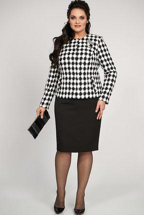 Купить со скидкой Комплект юбочный Alani 775 черно-белый