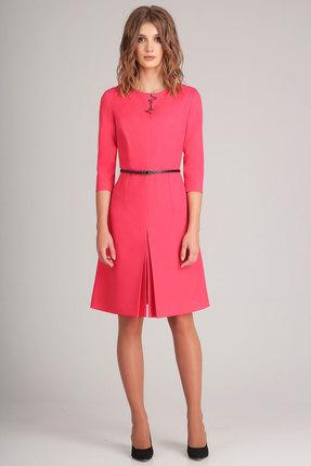 Купить Платье Denissa Fashion 1168 коралл, Платья, 1168, коралл, 96% ПЭ, 4% спандекс, Мультисезон