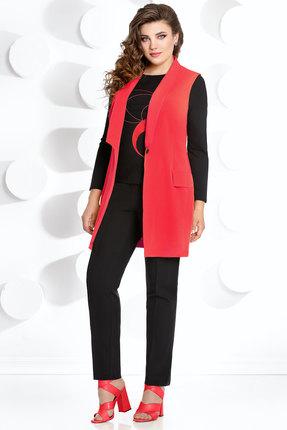 Комплект брючный Мублиз 272 красный с черным