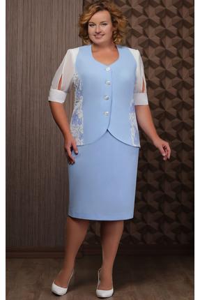 Комплект юбочный Aira Style 611 голубой