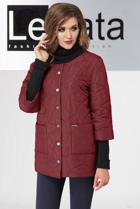 Куртка LeNata 11802 бордо LeNata