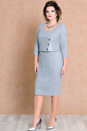 Купить Платье Mira Fashion 4480 серый, Платья, 4480, серый, ПЭ - 100%, Мультисезон