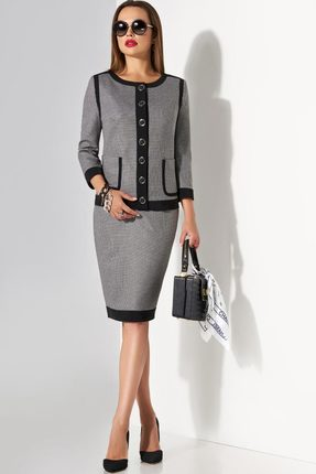 Комплект юбочный Lissana 3345 серый Lissana