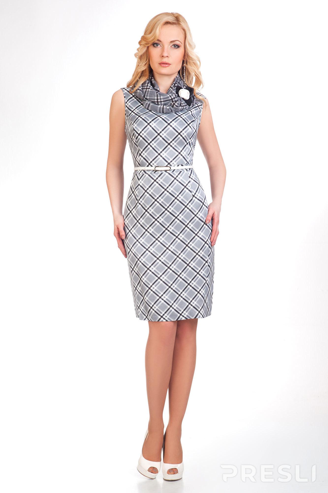 Платье Noche Mio 1.223 серебро с черным