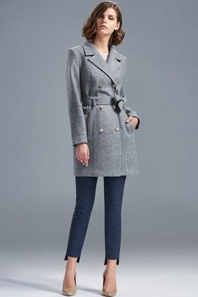 Пальто SoLei 3272 серый SoLei