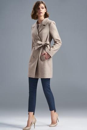 Пальто SoLei 3272 бежевый