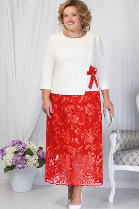 Комплект юбочный Ninele 5656 красный+белый