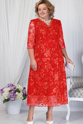 Купить Платье Ninele 7203 красный, Платья, 7203, красный, Кружево - ПЭ-100%, подкладка: полиэстер 70%, вискоза 25%, лайкра 5%, Мультисезон