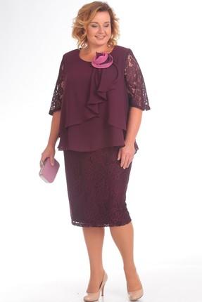 Купить Платье Pretty 587 марсала, Платья, 587, марсала, 96% полиэстр 4% спандекс, 100% полиэстр, Мультисезон
