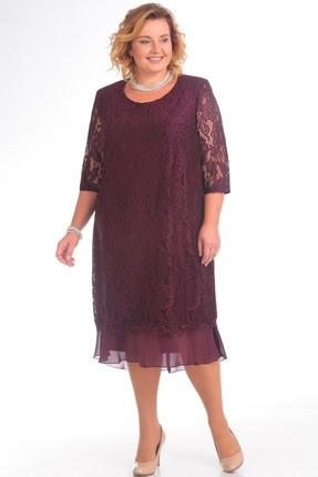 Купить Платье Pretty 709 марсала, Платья, 709, марсала, 96% полиэстр 4% спандекс, 100% полиэстр, Мультисезон