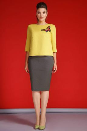 Комплект юбочный Anastasia 210 желтые тона