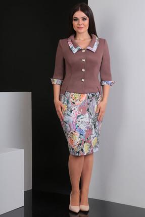 Комплект юбочный Мода-Юрс 1778 чайная роза