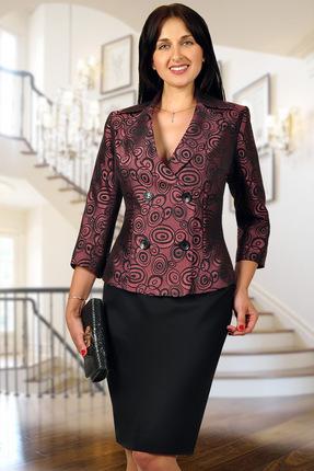 Комплект юбочный Миа Мода 882-5 темные тона
